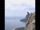 Да-это то самое, 😱😀 Да-это прыжок со скалы, и да я это сделала 👏 в очередной раз убеждаюсь, что я могу всё 💪 перебороть себя и