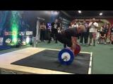 Odd Haugen 215 kg USA Apollon Axle Аксель Чемпионат Мира 2017 Армлифтинг