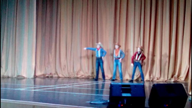 Танец ковбоев - мужской класс(педагог А.Ю. Богданов)