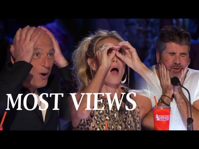 TOP MOST VIEWS America's Got Talent NEW UPDATE