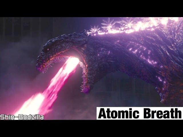 Shin Godzilla- Atomic Breath Scene [Ultra HD] 60fps!!