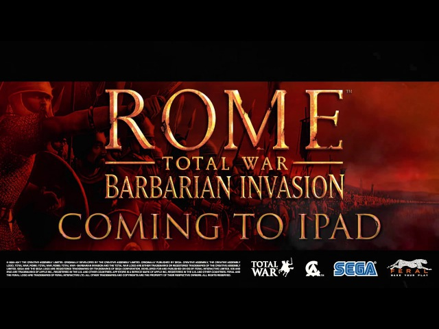 ROME: Total War - Barbarian Invasion for iPad - Gameplay trailer