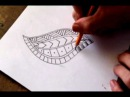 How To Draw a Tribal Maori Polynesian Tattoo Design Pattern
