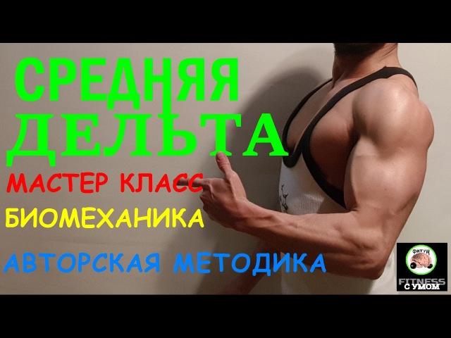 Средняя Дельта - Биомеханика Мастер класс в школе фитнеса