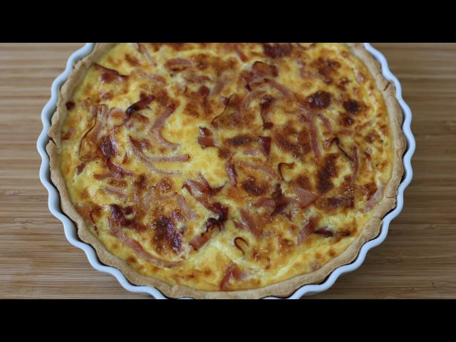 Quiche Lorraine - French Quiche recipes - The French Cooking Academy