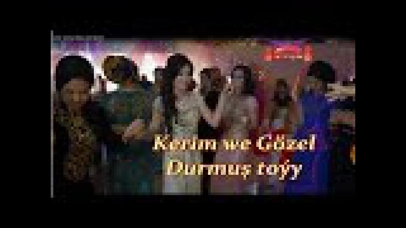 Kerim vs Gozel Durmush toyundan ajayyp pursatlar.(full HD 2016)