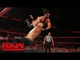 Seth Rollins &amp Dean Ambrose vs. Luke Gallows &amp Karl Anderson Raw, Sept. 4, 2017