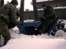 Мини трактор iseki 1500, первый выезд.