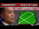 4 Snookers! Ok, No Problem! Incredible Steal of Snooker Frame