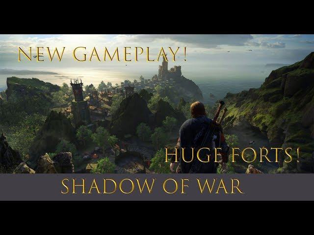 Shadow of War! New Gameplay! Betraying Your Own Orcs and More!