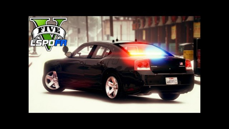 GTA 5 LSPDFR Ep167 FBI Special Agents Battle in Snow