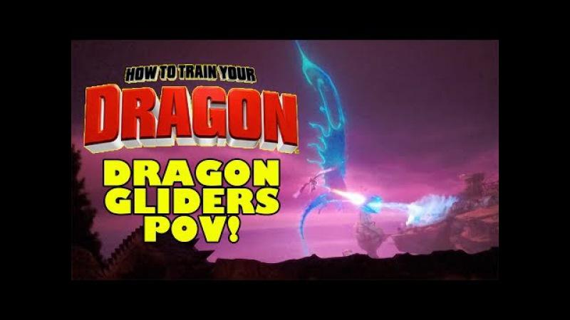 Dragon Gliders Complete Ride Through POV How to Train Your Dragon Ride Motiongate Dubai DreamWorks