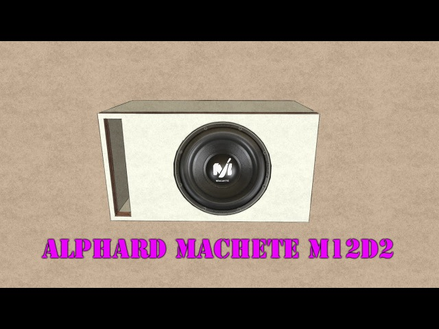 Ящик для Alphard Machete M12D2