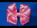 Очень красивые бантики Beautiful bow of satin ribbons