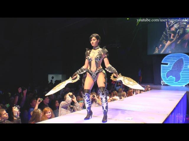 Cosplay unique: Warrior girl