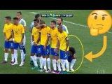 Marcelo Strange Free Kick Wall Vs Messi 2016