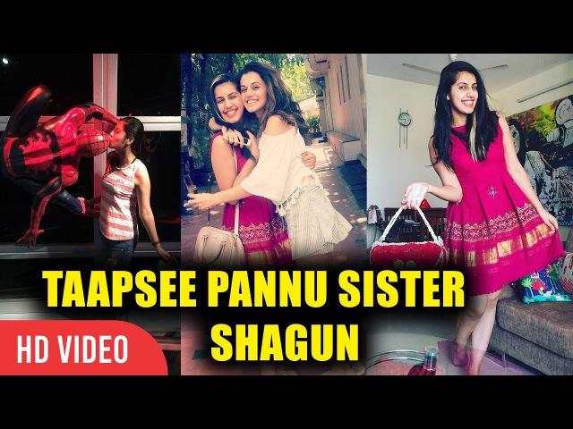 Taapsee Pannu's Sister Shagun Meet New Internet Sensation Shagun Pannu