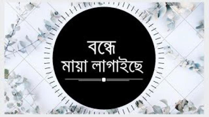 Bangla Hit Song ♦ বন্ধে মায়া লাগাইছে ♠ bondhe Maya Lagaise loko Gaan Bengali Folk Song Polli Geeti