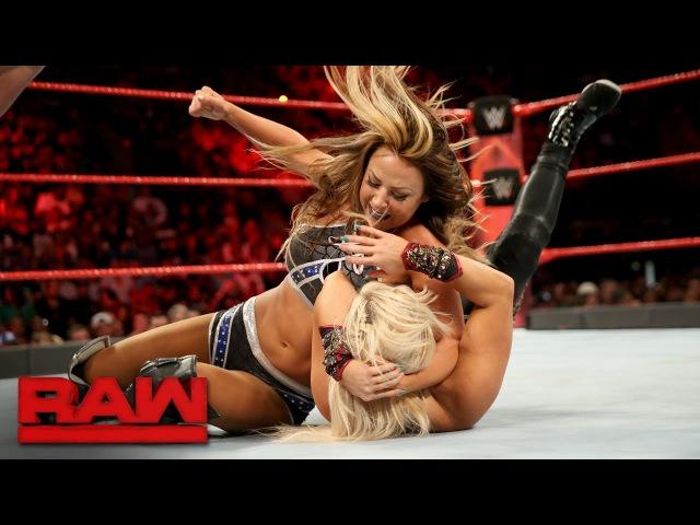 SB_Group| Sasha Banks, Mickie James Dana Brooke vs. Alexa Bliss, Nia Jax Emma: Raw, June 12, 2017