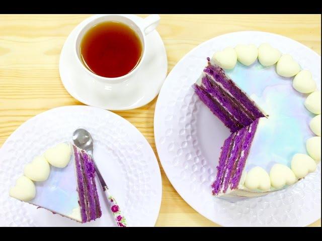 Лавандовый Бисквитный Торт / Конкурс от Luminarc / Lavender Sponge Cake