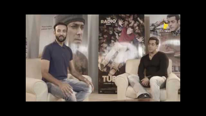 Salman Khan Tubelight Interview On UC mini.... Bhai share experience about Tubelight