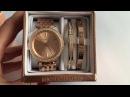 Набор подарочный от Michael Kors с часами МК3190