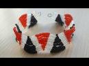 Браслет из бисера Волна/Bead bracelet Wave