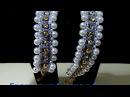 Браслет из бисера и бусин / Beaded bracelet and beads