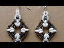 How To Make Sparkling Beaded Earrings DIY Style Tutorial Guidecentral