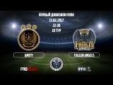 RLPC  14th Season  1st Division  10th Match Day  Amity - Fallen Angels