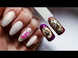 Дизайн ногтей✦Декупаж (2)✦Ksana Groza. Nail Art Blog