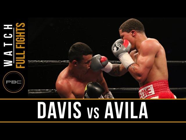 Davis vs Avila FULL FIGHT April 1, 2016 - PBC on Spike