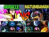 Miracle- Invoker vs Matumbaman Alchemist Dota2- 9k vs 9k