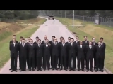 Инженеры  танкового завода на испытании тормозной системы, разработанного ими танка.!!))