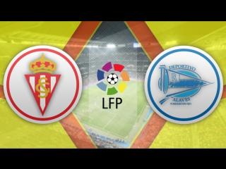 Спортинг 2:4 Алавес   Испанская Примера 2016/17   21-й тур   Обзор матча