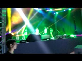 Видео с шоу Mega Dance 90x, на сцене группа Бони Эм