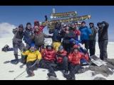 Килиманджаро по разным маршрутам, с таймлапсом восхода на вершине