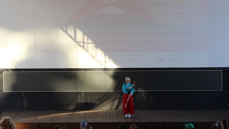 Школа традиционных воинских искусств для девушек Кэнбу Кокоро - Москва - J-FEST Summer 2017