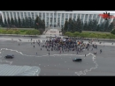 """Tinerii Moldovei"" организовали протест"