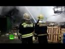 Пожар на складе лакокрасочных изделий в Щёлкове локализован
