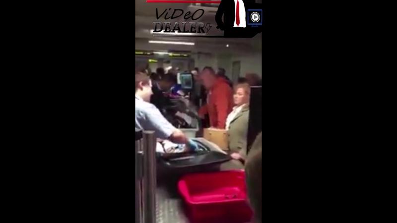 Служба безопасноти аэропорта нашла необычную вещь у одного из пассажиров