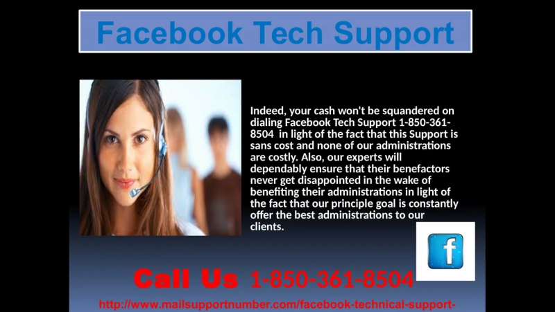 Be Well-Versed In Troubleshooting Through Facebook Tech Support 1-850-361-8504