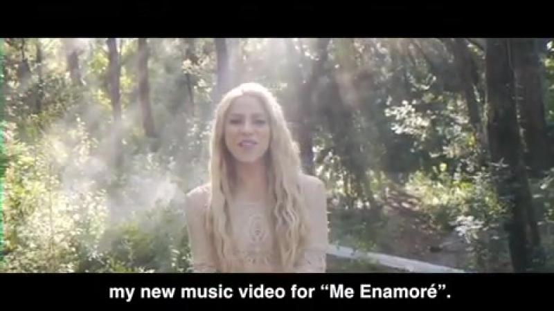 """En el set rodando mi nuevo video Me enamoré"""" On set filming my new video for Me enamoré"""" Shak"""