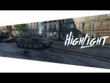 Highlight.Pz.Kpfw. VII -  Страж Судьбы на улицах Парижа