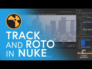 VFX Tutorial - Basic Tracking and Rotoscoping in NUKE