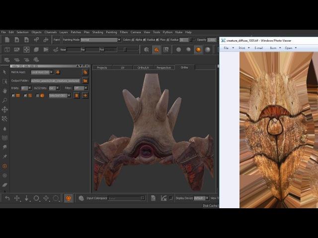 From Maya to Mari - M4.2 Sending Textures Back to Maya using mGo