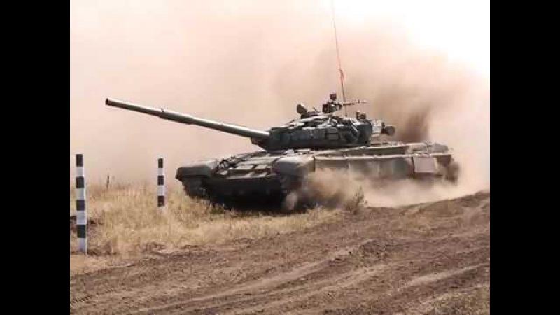 Соревнования по танковому биатлону в ЛНР