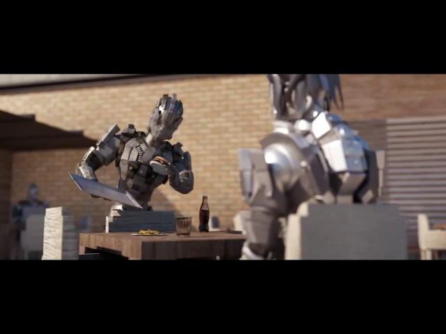 ОФИЦИАНТ - короткометражка про роботов