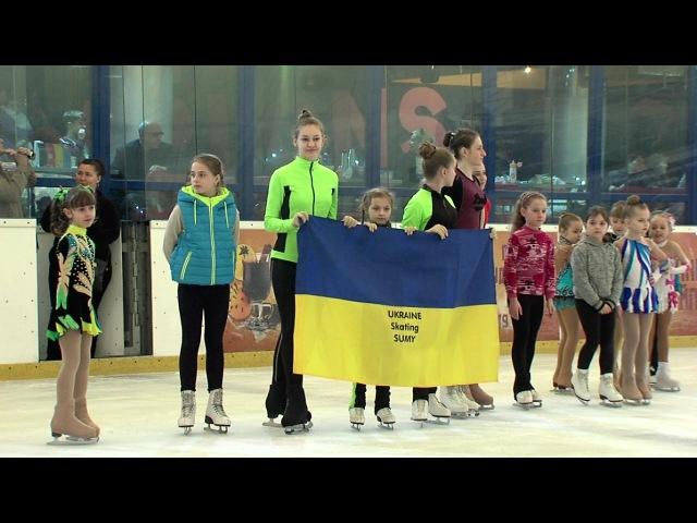 У Чернівцях стартував відкритий чемпіонат з фігурного катання на ковзанах