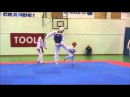 Aaron Cook vs Frederik Emil Olsen - TaeKwonDo Kid
